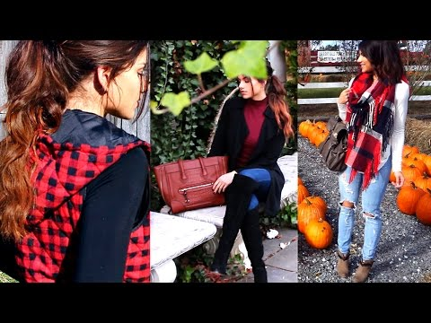 FALL FASHION OUTFITS & TRENDS | 3 CUTE FALL OUTFIT IDEAS 2016!