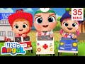 Baby John And The Rescue Squad + More Little Angel Kids Songs & Nursery Rhymes