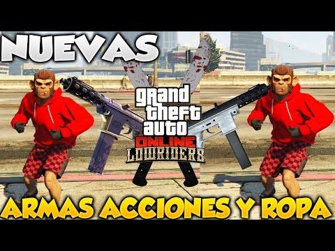 Gta 5 online dlc lowriders nuevas armas ropa y acciones for Cuarto personaje gta 5