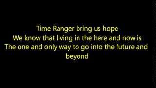 Mirai Sentai Timeranger Full English Opening