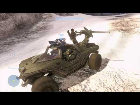 Halo 3 - Saving Sergeant Johnson ALL THE WAY (REVISITED)