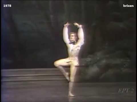 Sleeping Beauty Act 2 Prince solo - Ashton - Dowell, Wall, Polunin, McRae