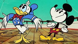 Captain Donald | Mickey Mouse Cartoon | Disney Shorts