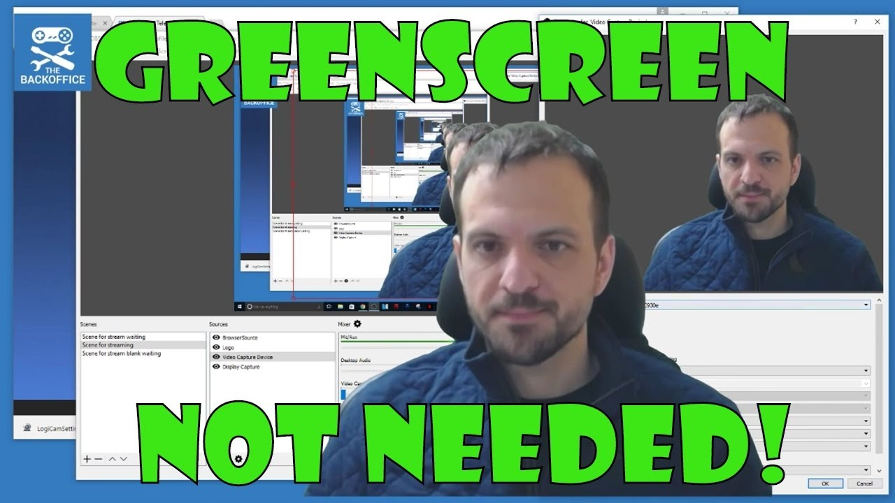 Free Background Removal Without A Greenscreen Doovi