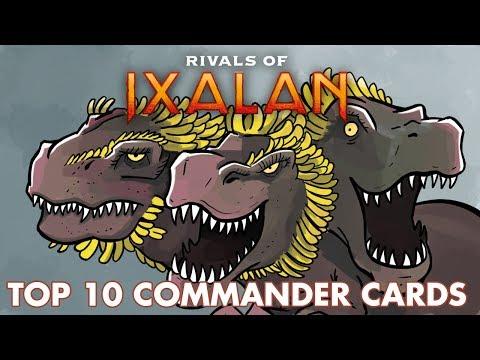 Rivals of Ixalan: Top 10 Commander Cards