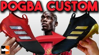 Paul Pogba 17+ PureControl adidas Custom - How To