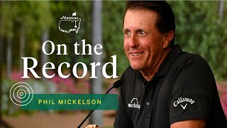 Phil Mickelson Shares Glimpse Into Champions Dinner Lore | The Masters