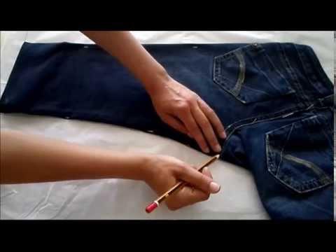Copiar Patrón Pantalón Vaquero Youtube