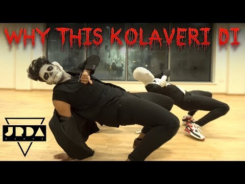 Why This Kolaveri Di | Halloween Dance Cover | Anirudh | Dhanush | @JeyaRaveendran Choreography