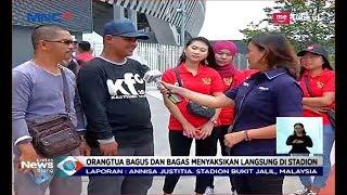 Beri Kejutan! Keluarga Dukung Langsung Bagas-Bagus di Laga Perdana AFC U-16 - LIS 21/09