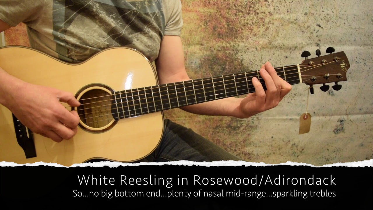 Used and vintage handmade Acoustic Guitars From North America