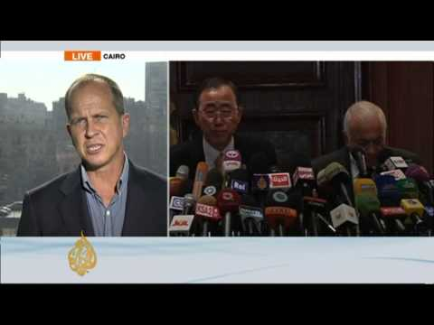 Al Jazeera's Peter Greste in Cairo explores Gaza diplomatic routes