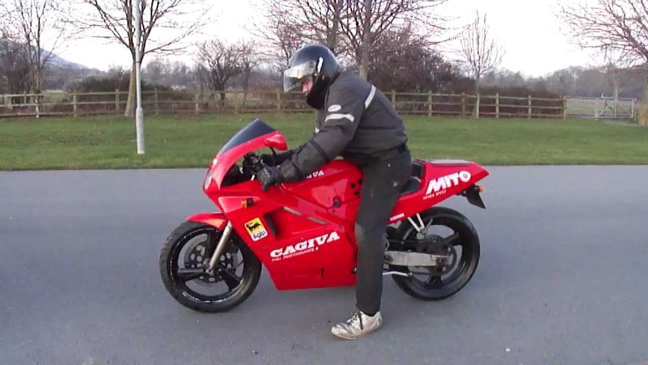 1991 cagiva mito 125 7 speed full power vgc very fast new mot tax rare bike youtube. Black Bedroom Furniture Sets. Home Design Ideas