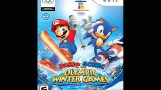Mario & Sonic at the Olympic Winter Games (Wii) - Ice Hockey Music