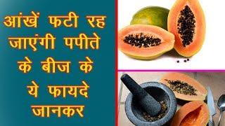 पपीते के बीज सोने से भी महँगे | पपीते के बीज के चोंकाने वाले फ़ायदे | Papaya Seeds Benefits In Hindi