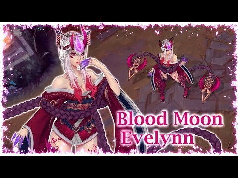 Blood Moon Evelynn [Concept Art]