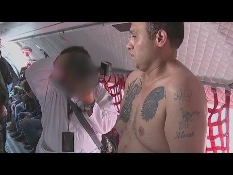 Nuevas imágenes del traslado del Z-42, Omar Treviño Morales