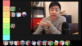 MY SPEEDCUBE TIER LIST (Best 3x3 Magnetic Cubes)