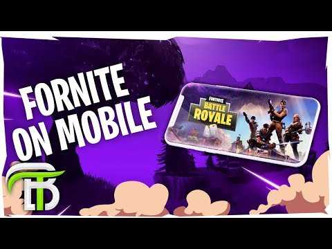 HOW TO PLAY FORTNITE ON YOUR PHONE (Fortnite Mobile IOS Android) SIGN UP LINK