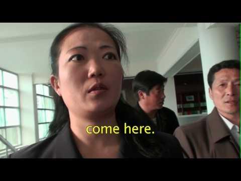 Digital library and intranet in Samjiyon, North Korea (english sub)