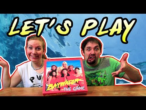Let's Play the Baywatch Board Game!
