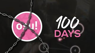 I stopped playing osu! for 100 days...