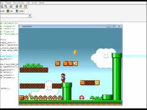 Game Mario Bros made in C++/Allegro