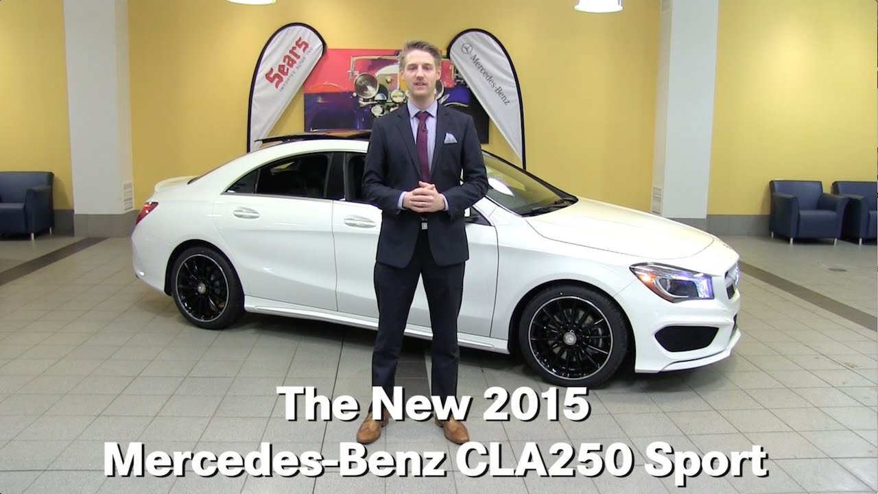Review new 2015 mercedes benz cla250 cla class for Mercedes benz bloomington mn