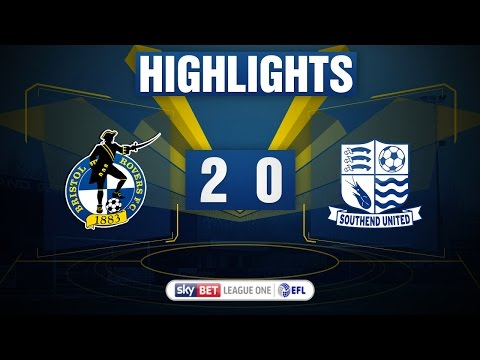 HIGHLIGHTS: Bristol Rovers 2-0 Southend United