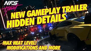 NEED FOR SPEED HEAT GAMEPLAY TRAILER HIDDEN DETAILS AND MORE!