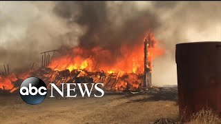 State of emergency in parts of N. California due to fires