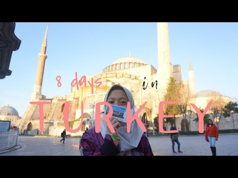 |Travel Vlog| 8 Days Around Turkey