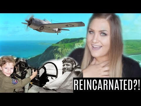 Boy Remembers His Past Life As a World War II Pilot!!
