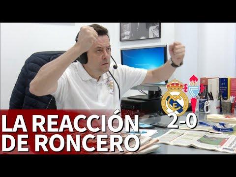 Real Madrid 2 Celta 0 | La reacción de Roncero a los goles de Isco y Bale | Diario AS