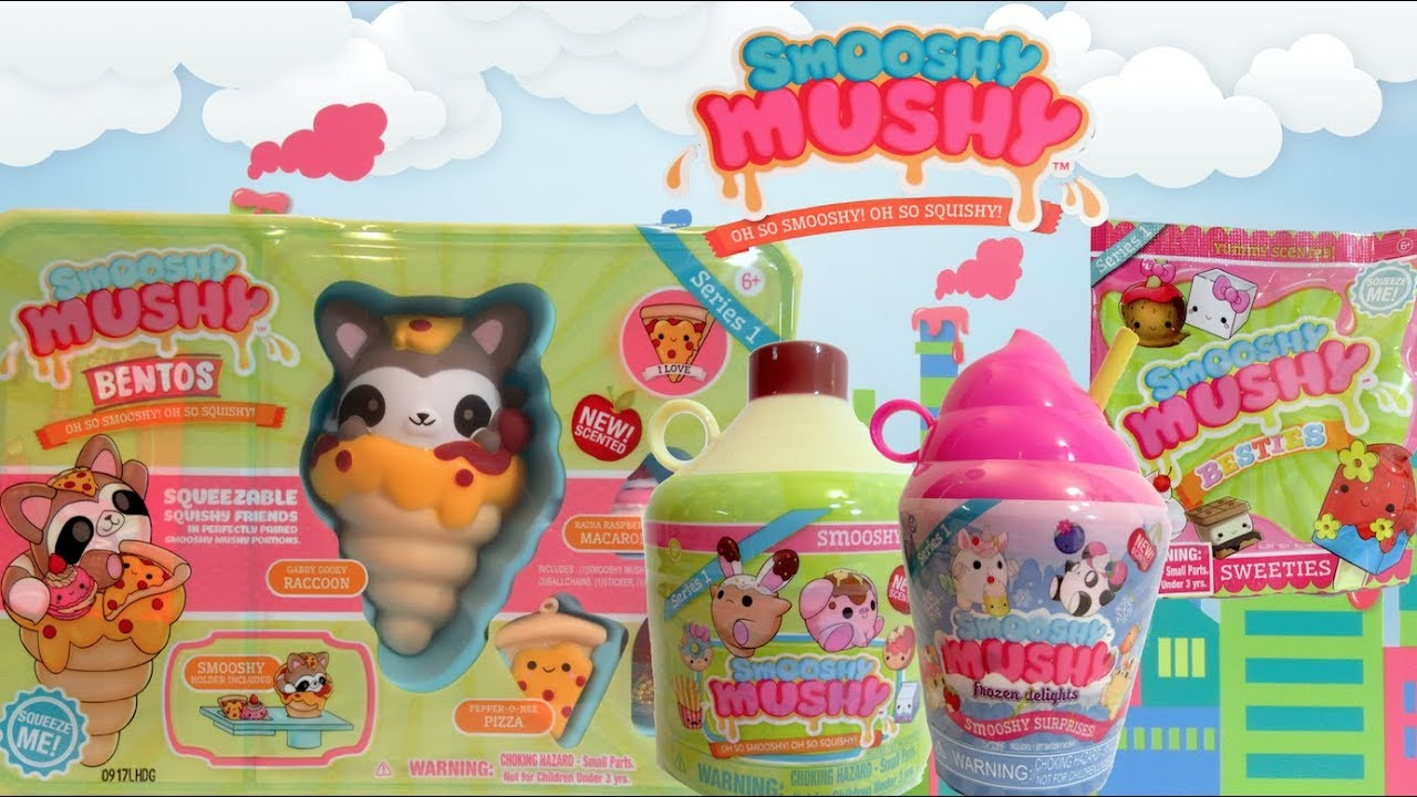 Smooshy Mushy Box : SMOOSHY MUSHY Collectible Squishies Unboxing - YouTube