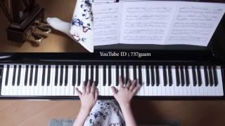 使用楽譜;月刊ピアノ 2015年5月号(採譜者:内田美雪)、 ぷりんと楽譜...