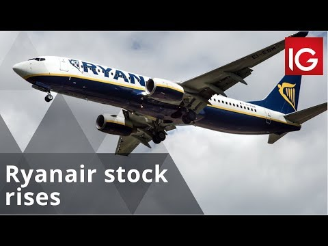 Ryanair stock rises as pilots' strike dates confirmed