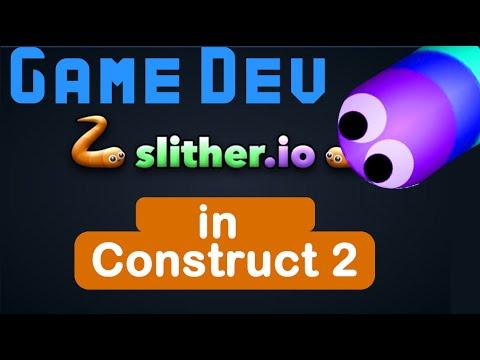 Construct 2 Slither.io - tutorial game development