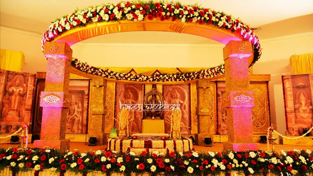 An awesome wedding decoration in trivandrum rdr auditorium by team an awesome wedding decoration in trivandrum rdr auditorium by team happy weddings junglespirit Images