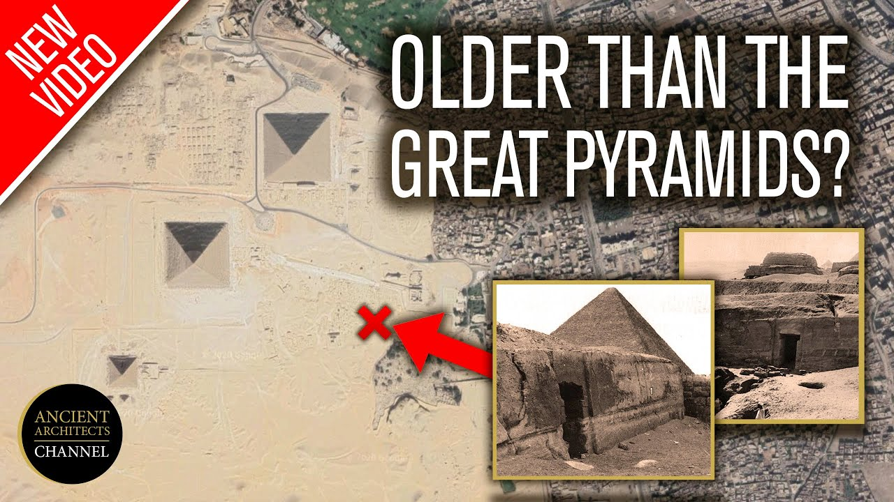 Older than the Pyramids? The Mystery of the Uninscribed Rock-Cut Tomb of Giza | Ancient Architects