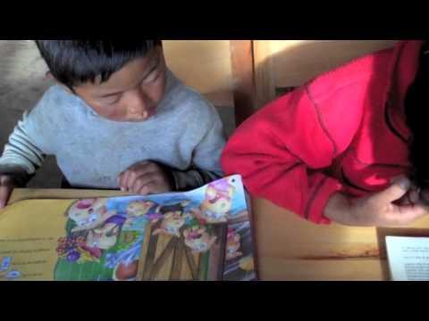The World: Ura, Bhutan's library