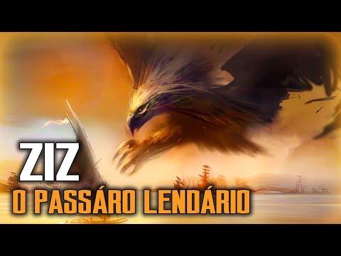 Ziz, o rei das aves do céu - MITOLOGIA JUDAICO-CRISTÃ
