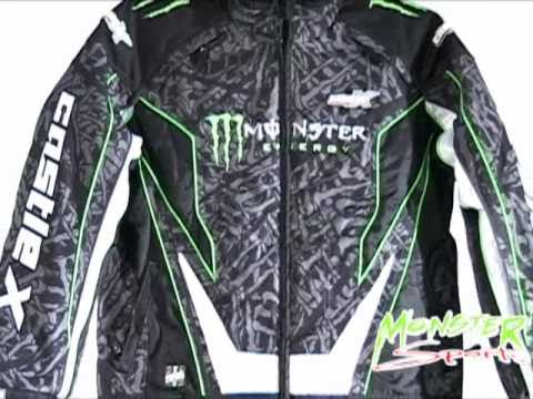Castle X 2011 Monster Energy Snowmobile Jacket Monstersportsinc