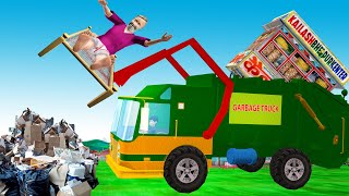 GARBAGE TRUCK Kahani   Hindi Kahaniya - Funny Hindi Comedy Video Stories