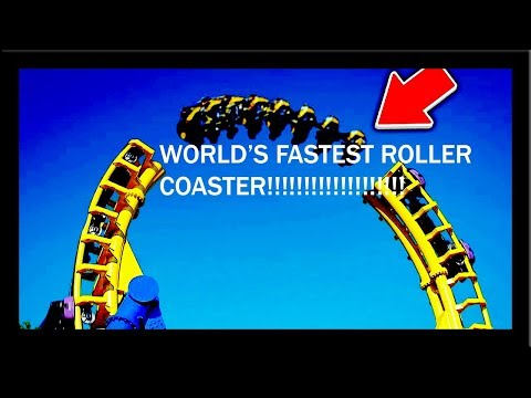 FASTEST ROLLER COASTER IN THE WORLD | RollerCoaster Tycoon Deluxe |
