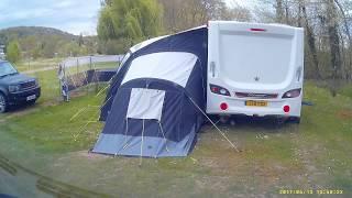 Arriving at Camping La Croix Du Vieux Pont