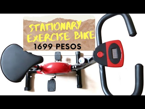Shopee Exercise Bike to Lose Belly Fat UNBOXING