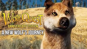 A NEW WOLF'S JOURNEY! | WolfQuest : Anniversary Edition Gameplay Part 1