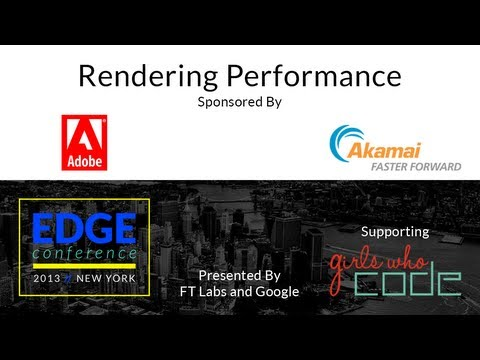 Edge Conf 2: Rendering Performance