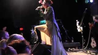 """Bottomfeeder"" - Amanda Palmer - Live From Carborro NC - Theatre Is Evil"
